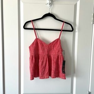 UO / COPE / FLARED PATTERNED TANK TOP